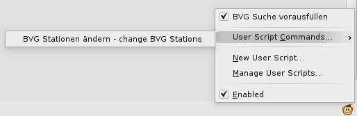Greasemonkey Menu to change the default values.